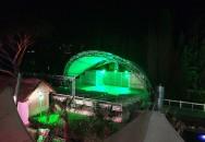 Покрытие летнего кинотеатра гостиницы «Ялта-Интурист»