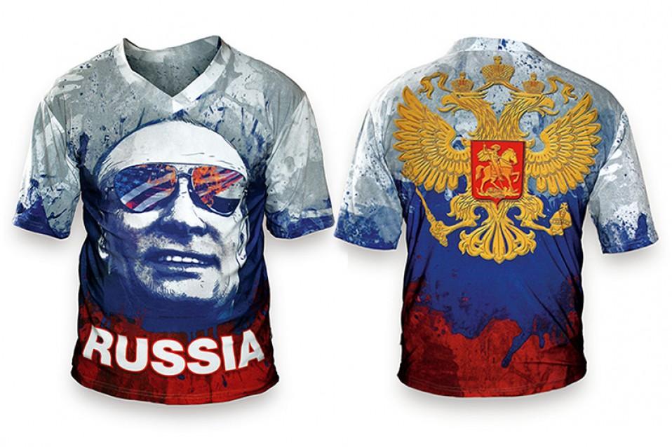 Футболка «Путин РОССИЯ»