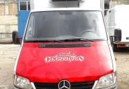Брендирование авто «Скворцово». Mercedes— вид спереди