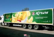 Брендирование автотранспорта компании ПБК 05