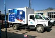 Брендирование автотранспорта компании ПБК 11