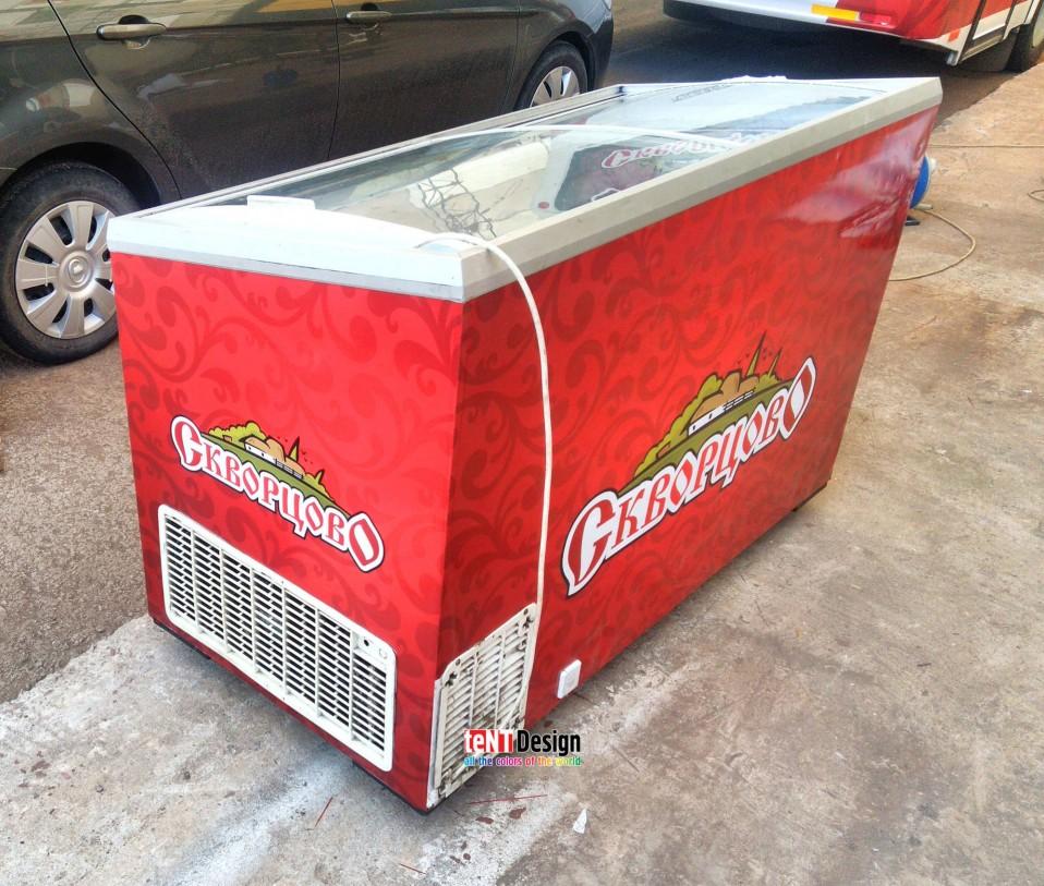 Оклейка холодильников