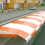Тентовый навес на пляже. ЖК «Park La Mer (Парк Ля Мер)», г. Алушта, Крым.03