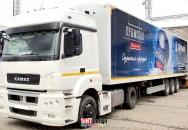 Брендирование автотранспорта компании ПБК 09