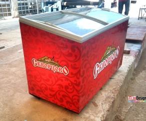 Брендирование холодильника Скворцово