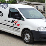 Брендирование транспорта компании Max Drive